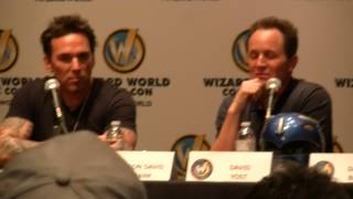 Jason David Frank & David Yost Talk Power Rangers Romance at Wizard World Sacramento 2015 Panel