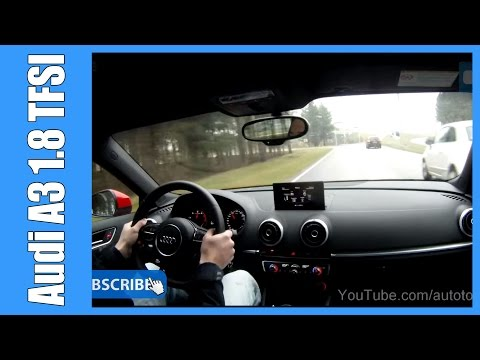 Audi A3 1.8 TFSI 180 HP NICE! OnBoard Acceleration S-Tronic