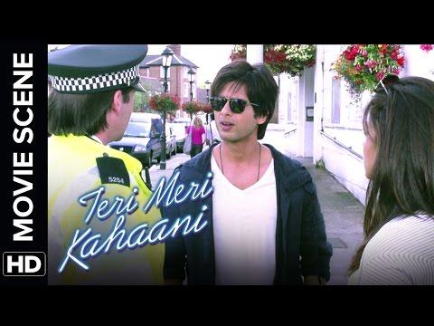 Shahid is a mobile thief | Teri Meri Kahaani | Movie Scene