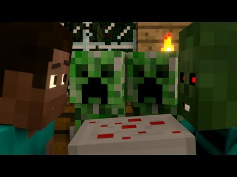 """I Baked a Cake Just for You"" - A Surreal Minecraft Music Video"