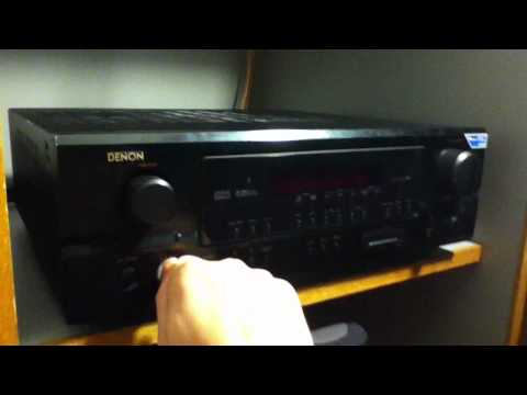 Denon AVR-1905 specs (Meet Gadget)