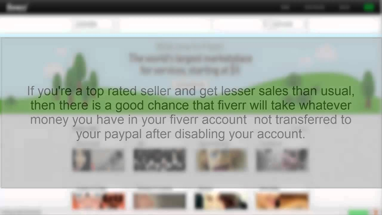 Fiverr is scam proof do not use fiverr ever youtube