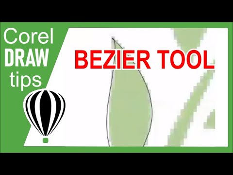 Bezier tool in CorelDraw