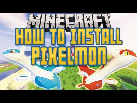 How to install Pixelmon (Easiest Way!)   Any Version + Optifine