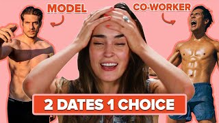Will She Choose To Date A Greek Model Or Her Coworker?