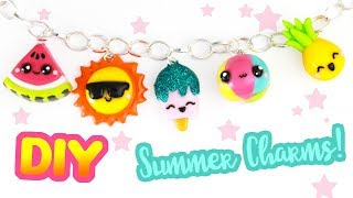 5 DIY SUMMER CHARMs! | KAWAII FRIDAY -Summer Special!
