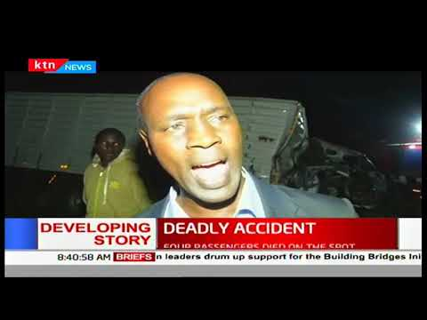 6 people confirmed dead in a road accident in Naivasha last night