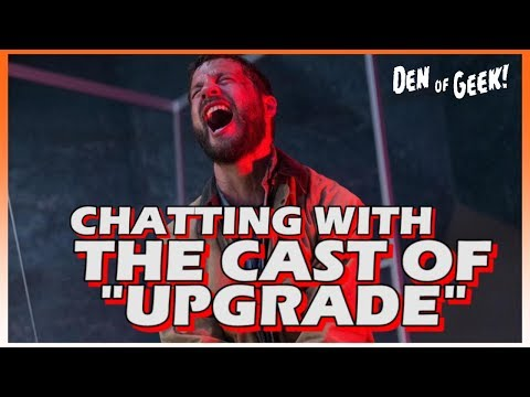 """SXSW 2018 - Chatting With The Cast Of """"Upgrade"""""""