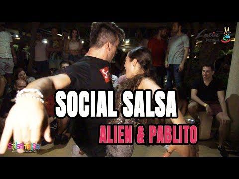 Social Salsa Video | Alien Ramirez - Pablito Stellato | LLF-2017