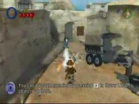 LEGO Indiana Jones - Parcel Locations - City of Danger