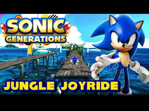 Sonic Generations Unleashed Project - (1080p) Jungle Joyride