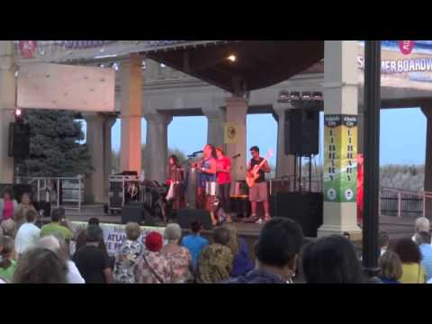 Atlantic City Library International Night Series featuring Dende & Band Aug. 6, 2014