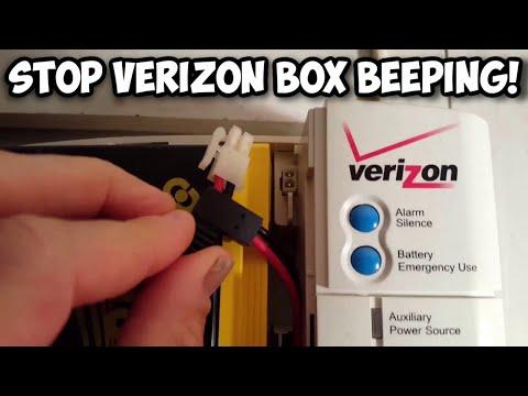 Stop Verizon Fios Box Beeping