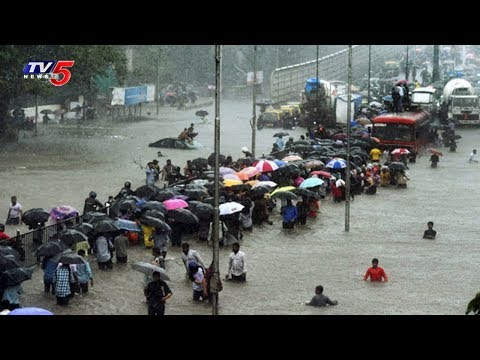 Heavy Rains Lash Out Mumbai City | TV5 News