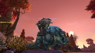 WoW Silthide - Rare Sapphire Riverbeast Rare Mount!! Warlords of Draenor