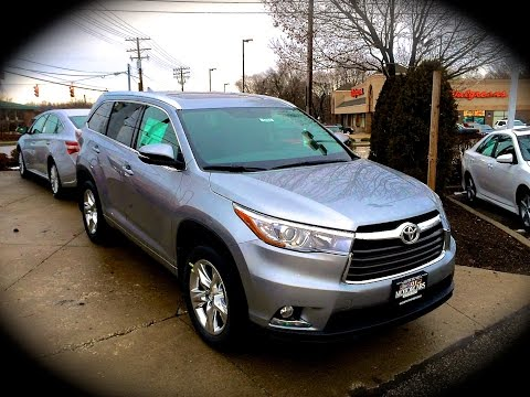 2014 Toyota Highlander Limited AWD Start Up, Review, Exhaust, & Quick Test Drive @ MOTORCARS TOYOTA