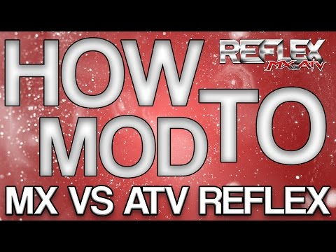 How to Install Custom Bikes/Gear/Tracks on MX vs ATV REFLEX  HD  (EASY)