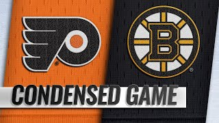 10/25/18 Condensed Game: Flyers @ Bruins