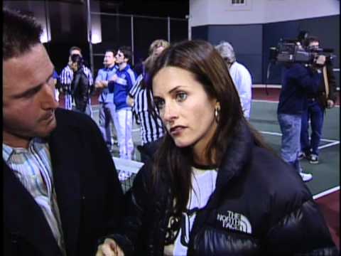 David Arquette & Courteney Cox Celebrity Dodgeball