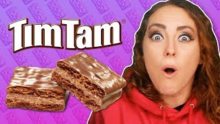 Irish People Try Australian Tim Tams