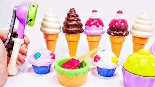 Learn Colors with Yummy Ice Cream Cones Learn Colors for Children Playset   Kizy Club Video
