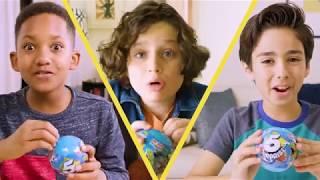 5 SURPRISE! 1, 2, 3, 4, 5, What's Inside Your Blue 5 SURPRISE egg toy?