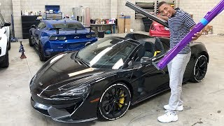 NEW WRAP FOR MY MCLAREN COST ME A LOT OF MONEY! *UNBELIEVABLE*