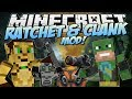 Minecraft | RATCHET & CLANK MOD! (Captain Qwark & Friends too!) | Mod Showcase