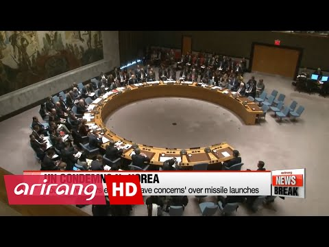 UN Security Council holds emergency meeting on N.K. missile launches
