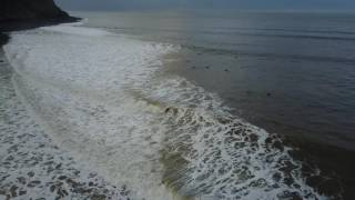 Lynmouth 16/12/16 Surfing Drone Footage