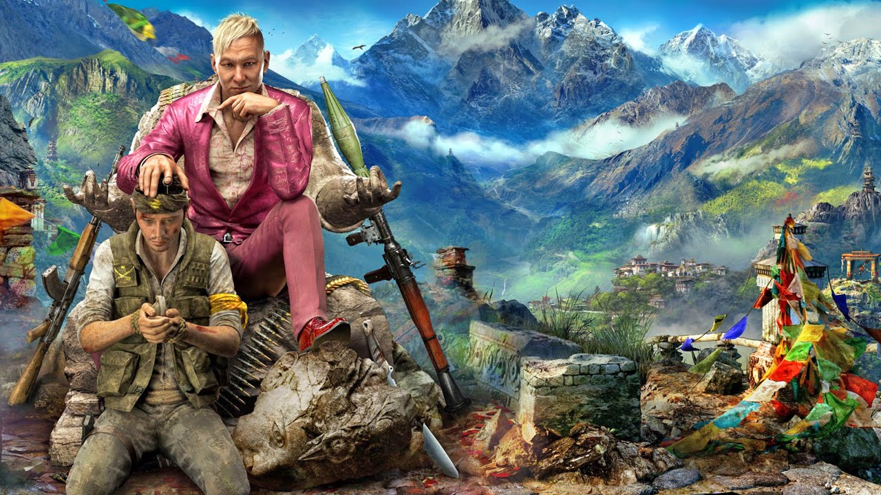 far cry 4 primeira gameplay playstation 4 xbox one. Black Bedroom Furniture Sets. Home Design Ideas