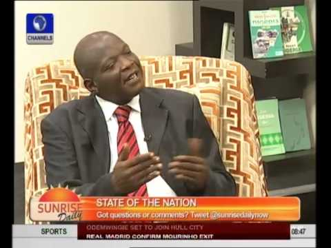 Expert Profers Ways To Curb Isecurity and Corruption In Nigeria pt 2