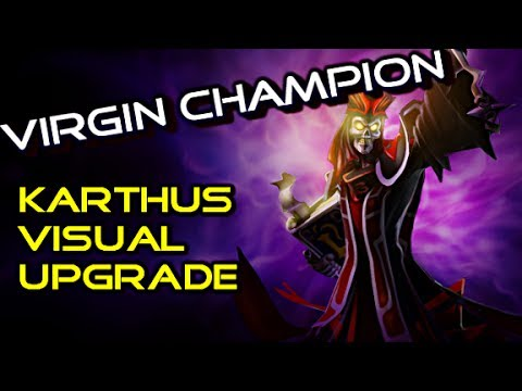 Virgin Champion : New Karthus Pbe 2014 Visual Upgrade - League Of Legends Full Gameplay Commentary video