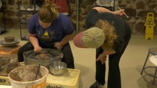 Pottery Class at the Southington Community Cultural Arts