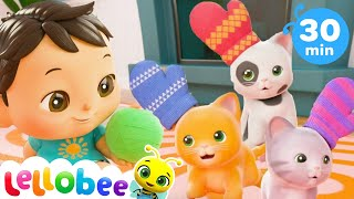 Three Little Kittens Song | Nursery Rhymes and Kids Songs | Baby Songs | Little Baby Bum