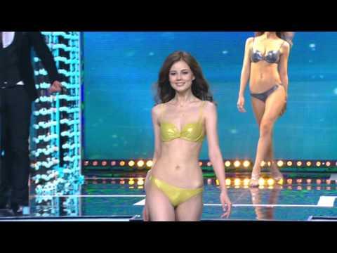 Мисс Россия 2016: Выход в купальниках - Miss Russia 2016: Swimsuits