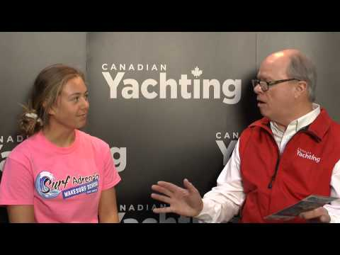 Surf Adrenalin Wakesurfing talks with Andy Adams of Canadian Yachting magazine