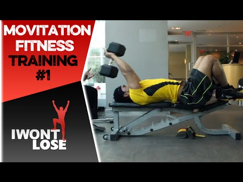 Motivation Fitness Training - @ADAMwontLOSE Part 1