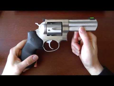 Ruger GP100: Super reliable. build like a tank (.357 Magnum revolver)