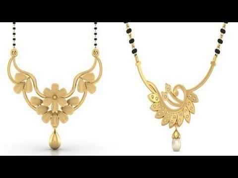 Small mangalsutra design gold   latest fashion   new design
