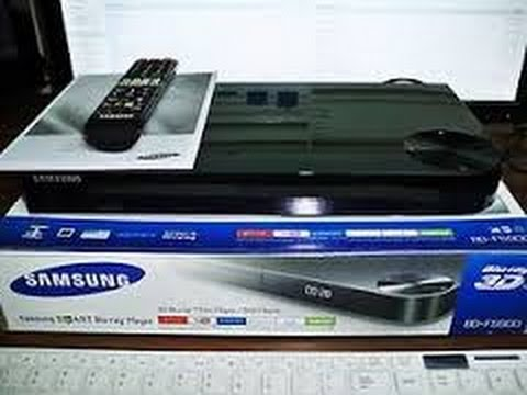 Samsung BD-F5900 Blu-ray Player Set-by-Step Setup