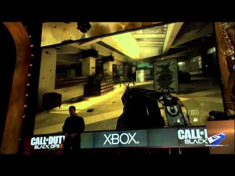 (novo) Call of Duty: Black Ops II - E3 2012: Press Conference Walkthrough