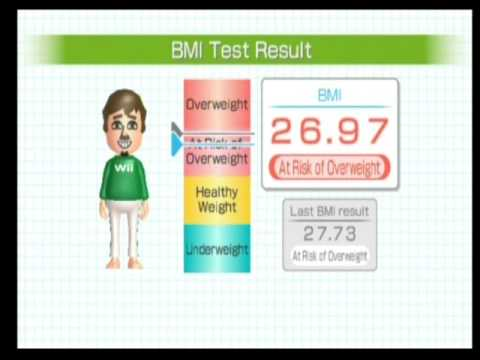 Wii Fit Plus - Body Test
