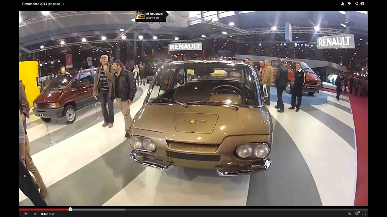 petites visite du salon retromobile 2014 pisode 1 youtube. Black Bedroom Furniture Sets. Home Design Ideas