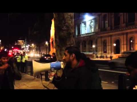 KCL student & TYOUK member address protest against Jaffna U