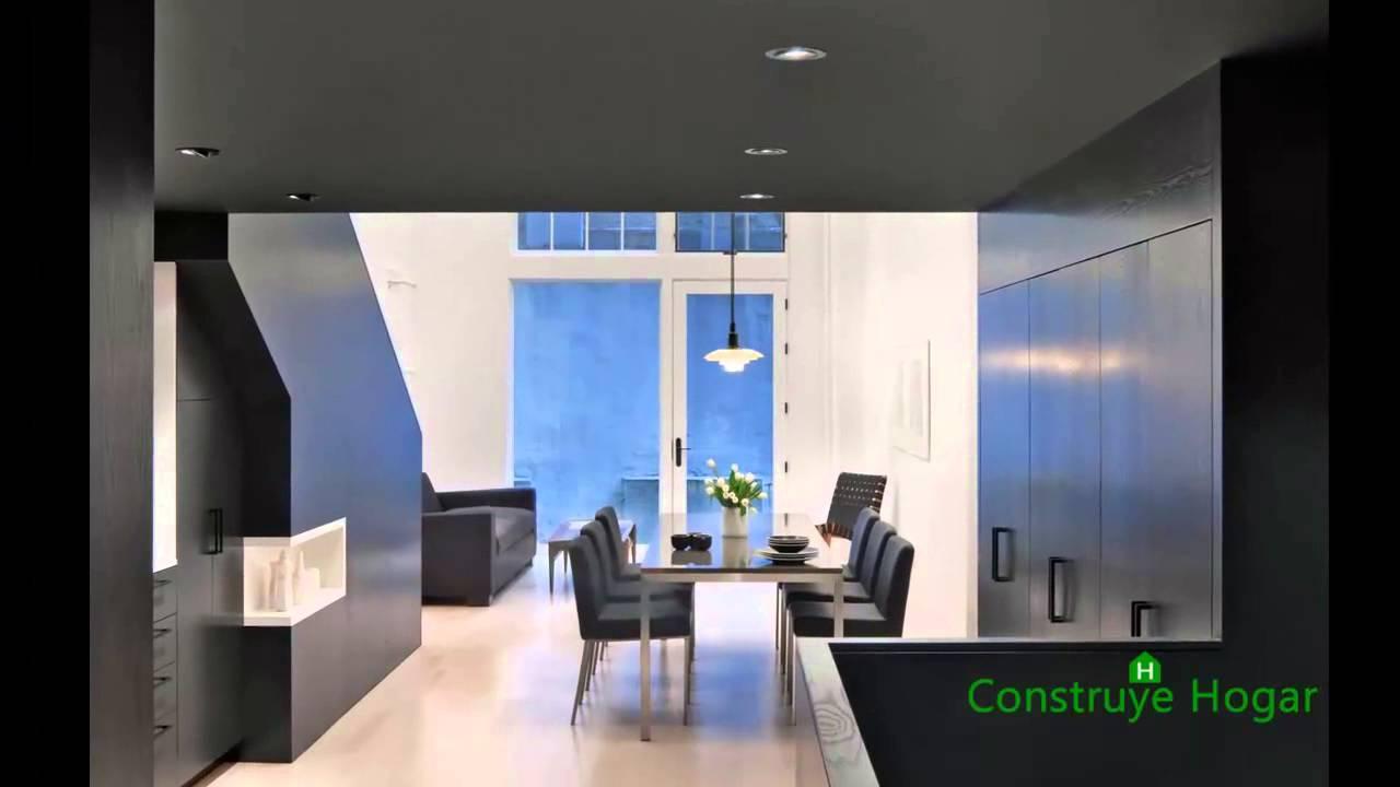 Apartamentos peque os con techo alto youtube for Modelos de apartamentos modernos y pequenos