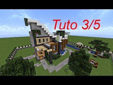 Minecraft le guide du constructeur 3 maison moderne youtube - Guide de construction minecraft ...