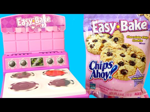 Easy Bake Oven Chips Ahoy Cookie Mix 2006 Toy Reviews For You