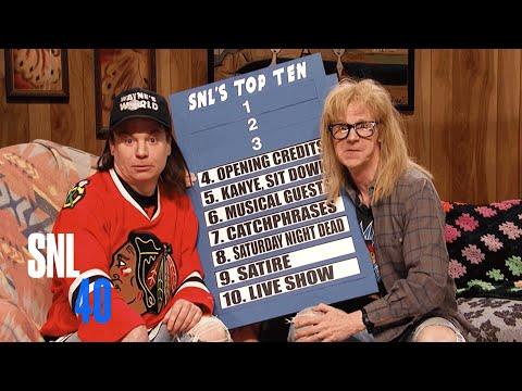 Wayne's World - SNL 40th Anniversary Special