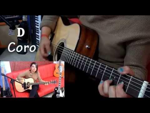 Love Story Tutorial Guitar Acustica - (Ximena Vargas)